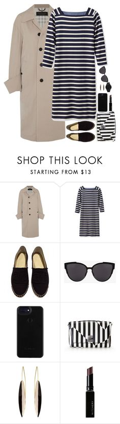 """""""Untitled #6864"""" by miki006 ❤ liked on Polyvore featuring Burberry, Michael Kors, L.L.Bean, Chanel, Akris and Witchery"""
