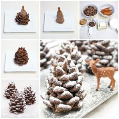 Ready to start your Christmas baking? These easy Christmas treats and sweets recipes are perfectly delicious, whether you have them for a snack or a dessert during the holidays. Christmas Sweets, Christmas Cooking, Noel Christmas, Christmas Goodies, Xmas, Christmas Parties, Christmas Cookies Unique, Elegant Christmas Desserts, Chocolate Christmas Gifts