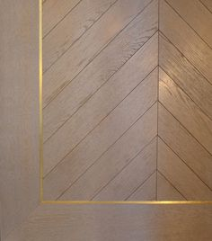 grey ash white wood floors with gold or brass inlay and parquet style on the inside Wood Parquet, Timber Flooring, Wood Paneling, Hardwood Floors, Flooring Ideas, Inlay Wood, Mahogany Flooring, Brass Wood, Antique Brass
