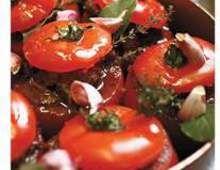 Mes tomates farcies au boeuf miroton