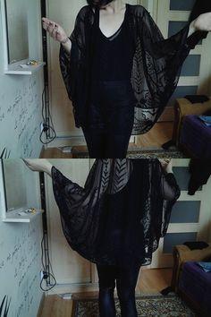 See Through Kimono Top