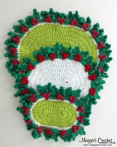 Maggie's Crochet · 20 Holly Hot Mats Crochet Pattern