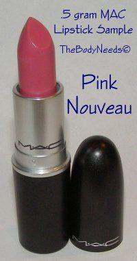 MAC Lip Stick Sample - Pink Nouveau - Bright Pink (Satin)  thebodyneeds2.com  $3.79