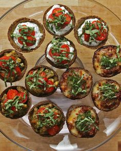 Herb Ricotta Broccoli Parmesan Cups Recipe by Tasty – Easy keto recipes – Foil Pack Recipes Low Carb Recipes, Cooking Recipes, Healthy Recipes, Sushi Recipes, Snacks Recipes, Finger Foods, Appetizer Recipes, Fun Appetizers, Elegant Appetizers