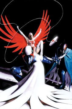 Battle of the Planets   Gatchaman by Alex Ross