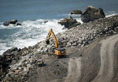 Scenic Coastal Highway Reopens in California After Last Years Landslide  Crews work to finish up a massive seawall at the base of the Mud Creek Slide alon Highway 1 on the coast of Big Sur California. Joe Johnston  Skift Take: Although the local community in Big Sur managed to make the best of a potential tourism disaster it's good to know that things are finally back to normal following last May's devastating landslide.   Deanna Ting  Read the Complete Story On Skift  https://ift.tt/2NzdPCy