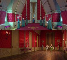Interior of Arendelle from Disney's Frozen