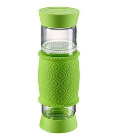 Look what I found on #zulily! Green 20-Oz. T2GO Glass Travel Tea Infuser by Artland #zulilyfinds