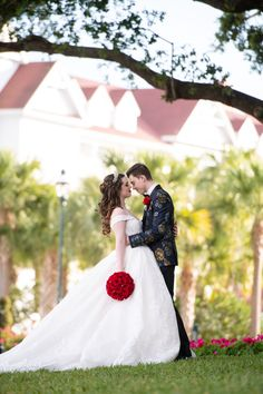 When she was 6 years old, Vanessa saw a bride at Walt Disney World and knew someday she would be married there. After her own Disney wedding, she disassembled her bouquet and gave the flowers to every child she met in hopes of creating a similarly magical memory for them!