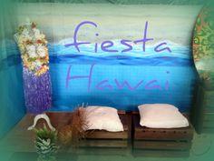 CARTEL FIESTA HAWAIANA. SALAS GÜERRI http://salasguerri.blogspot.com.es/