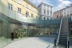 Ampliação do Museu Joanneum de Graz,Render 2