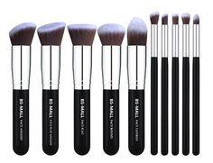 *OFERTA CALIENTE* Set de Brochas de Makeup de 10ct SOLO $4.99 en Amazon (Reg $36) #MakeupBrushes