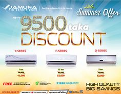 """Check out new work on my @Behance portfolio: """"Air Conditioner Ad for Jamuna"""" http://on.be.net/1eJEueJ"""