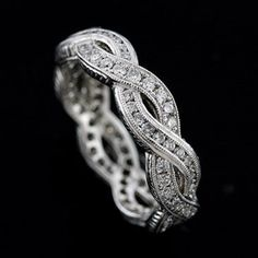 infinity channel wedding band - reminds me of the design of my wedding band - just more elaborate