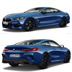 """This is how we would configure our BMW M850i xDrive; Sonic Speed Blue Jet Black 728 M 20"""" wheels Black interior Exterior carbon pack Configure yours at Zero2Turbo.com and share with us via DM Twitter or even uploading to your Instagram page 20 Wheels, Toys For Boys, Interior And Exterior, Mercedes Benz, Automobile, Racing, Bmw, Cars, Twitter"""