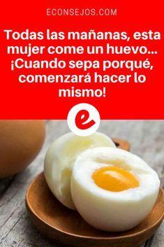 Huevos para bajar el colesterol | Todas las mañanas, esta mujer come un huevo... ¡Cuando sepa porqué, comenzará hacer lo mismo! | Todas las mañanas, esta mujer come un huevo... ¡Cuando sepa porqué, comenzará hacer lo mismo!