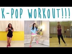 Fun Kpop Workout Routine!! I love this! It combines my love for K-POP with Fitness!