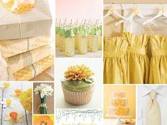 {daffodils} daffodil yellow wedding
