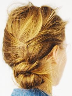 The Perfect Messy Bun in 5 Easy Steps via @ByrdieBeautyUK