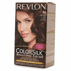 Revlon ColorSilk #46 Medium Golden Chestnut Brown  One of my favorite things to do when it gets to Fall is go darker with my hair!! Although I don't always wait. ;)
