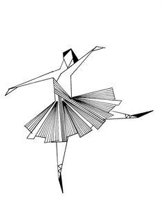 Ballerina #design #graphic