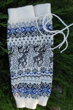 Wool Leg Warmers Knit leg warmers wool socks boot by WoolMagicShop