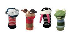 Hand Puppets by Cate & Levi - $33 each