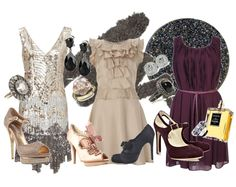 "The Great Gatsby Bridal Shower....ask guests to dress in ""roaring 20's"" style...."