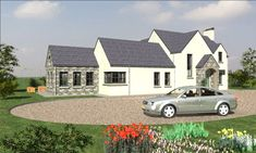 Build House, Building A House, House Designs Ireland, Bungalow Extensions, Ireland Homes, Architect House, Home Design Plans, Modern Homes, Modern House Design