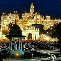 Dussehra 2017: Mysuru Palace Lights Up For Mysuru Dasara Festival