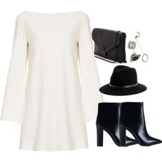 Untitled #1297 by shameeladitta on Polyvore featuring Rare London, Nly Shoes, Loeffler Randall, Forever 21 and rag & bone