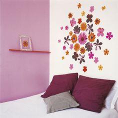 Fleurs Pop - wall stickers $30