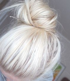 (100+) Tumblr #hair #blonde