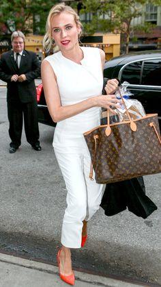 Summer's funnest trend: the jumpsuit! - Diane Kruger iin Roland Mouret - #InStyle