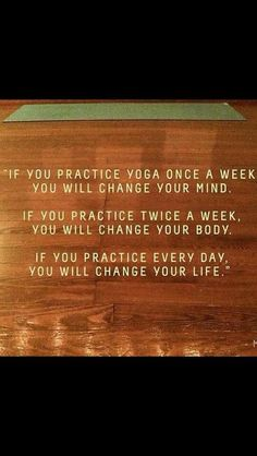 Yoga every damn day #yogaquotes