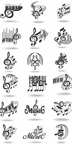 Notes, music staff and treble clef vector free clip art. Just what I needed for ., Tattoo, Notes, music staff and treble clef vector free clip art. Just what I needed for the rest often tattoo! Tatoo Music, Music Tattoos, Tatoos, Art Tattoos, Music Lyrics, Music Songs, Sheet Music Tattoo, Music Symbol Tattoo, Tattoo Lyrics