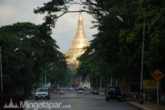 Nice view Pagodas in Myanmar
