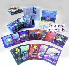 Oracle Card Deck – Spiritual Art, Inspiration, Yoga Art, Spirit, Meditation, Spiritual Gift, Oracle, Soul, Card Deck