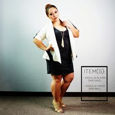 "Erzullie Fierce Plus Size Fashion Philippines: PLUS SIZE STYLE: #OOTD ""EASY ELEGANCE"""