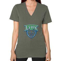 Minnesota Lynx V-Neck (on woman) Shirt