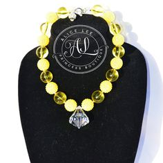 Yellow Pretty Pretty Princess Inspired Bubble by AliceLeePrincess