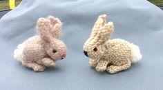 Pin Loom Weaving: Pin Loom Patterns ~ bunnies