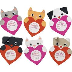 Puppies and Kittens Valentine Kit