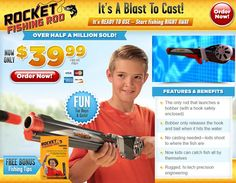 Rocket Fishing Rod is a fishing rod that casts like a hand-held gun. Does it work? Read our Rocket Fishing Rod review.
