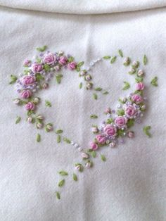 Floral embroidery ♥