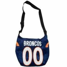 Denver Broncos NFL 00 Game Day Jersey Purse $17.95