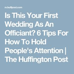 Is This Your First Wedding As An Officiant? 6 Tips For How To Hold People& Attention Wedding Prayer, Wedding Ceremony Script, Wedding Day Tips, Wedding Ideas, Wedding List, Wedding 2017, Wedding Stuff, Dream Wedding, Wedding Officiant Script