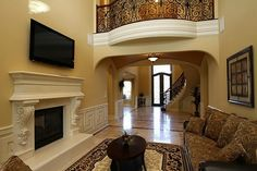 When I re-do my fireplace trim, I want large corbels.