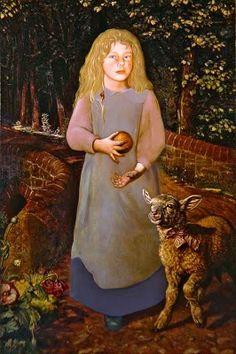 William Holman Hunt - Miss Flamborough