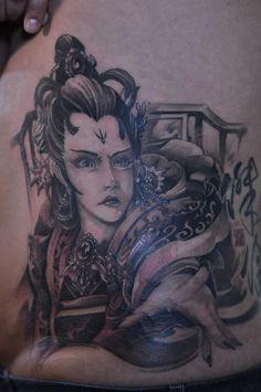Chronic Ink tattoos, Toronto tattoo - Female warrior tattoo